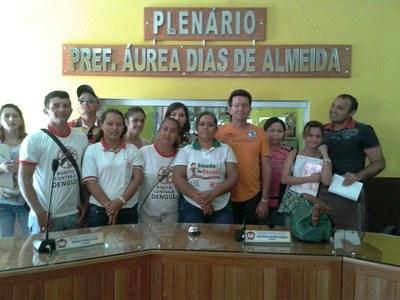 Agentes de Saúde em Reunião com o presidente Péricles Ramalho