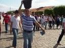 Pe. Francisco Geraldo no protesto