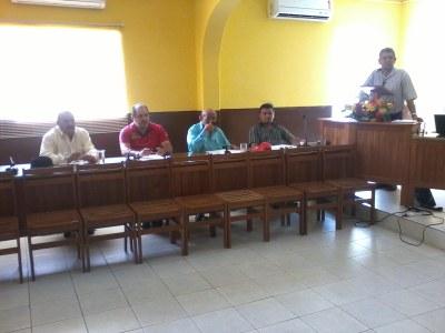 Reunião para discussão do Regime Jurido