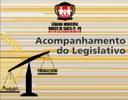 Sessão Ordinária aprova Regime Jurídico dos Servidores, Moção de Repúdio e Moção de Aplauso