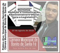 Workshop Redação Administrativa e Oficial para o Legislativo Municipal